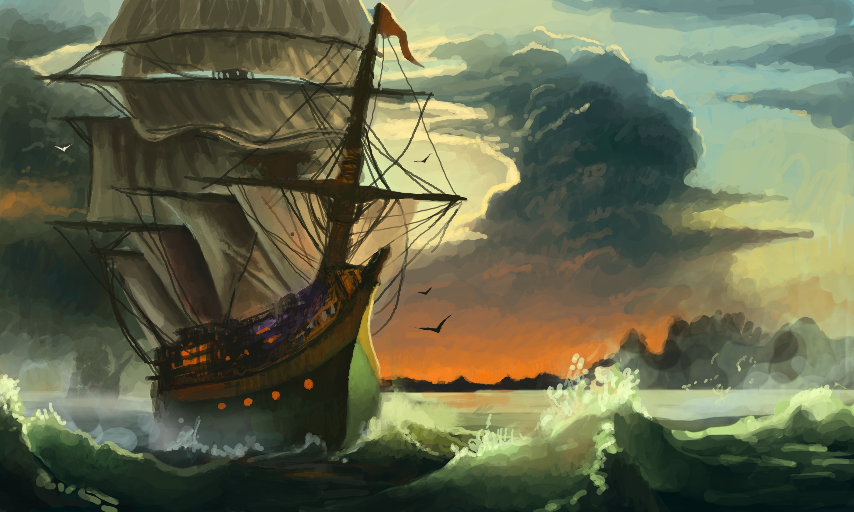 Colors! Live - Pirate ship by MO.SAID