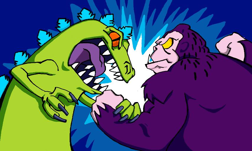 Reptar Vs King Kong