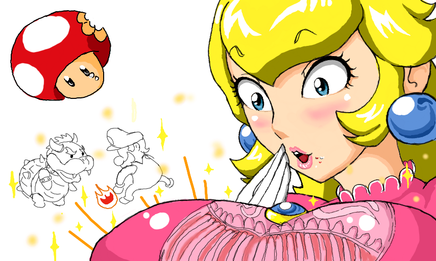 Princess Peach Expansion   by Red13172Butt Expansion Game