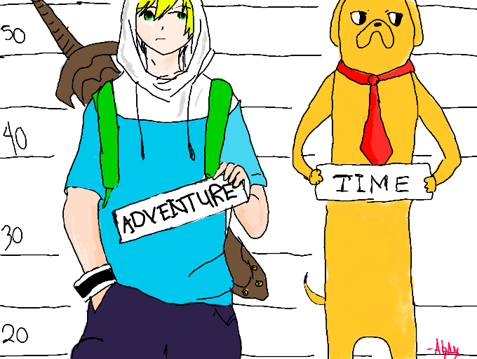 Colors! Live - Adventure time gangsta style xD by abbygail