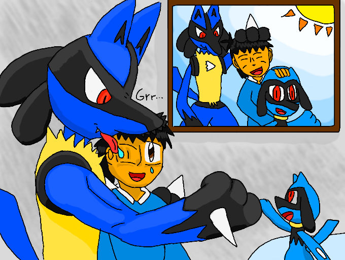 Image Gallery Lucario Fanfiction