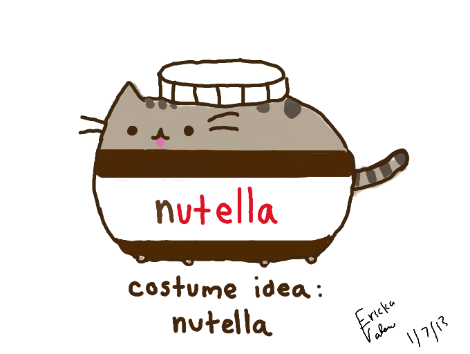Colors Live Costume Idea Nutella Pusheen By Yumfinite