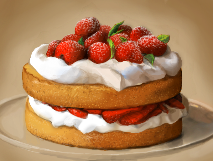 Strawberry Cake Images Download : Strawberry Cake