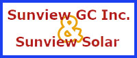 Website for Sunview General Contracting