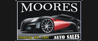 Website for Moores Auto Sales, Inc.