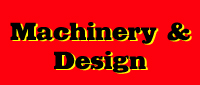 Website for Machinery & Design Company