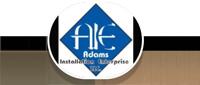 Website for Adams Installation Enterprise