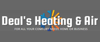 Website for Deal's Heating & Air