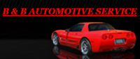 Website for B & B Automotive Service and Repair