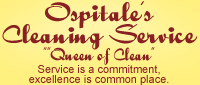 Website for Ospitale's Cleaning Service