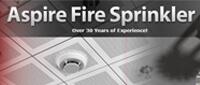 Website for Aspire Fire Sprinklers, Inc