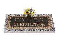 Christenson Bronze Marker