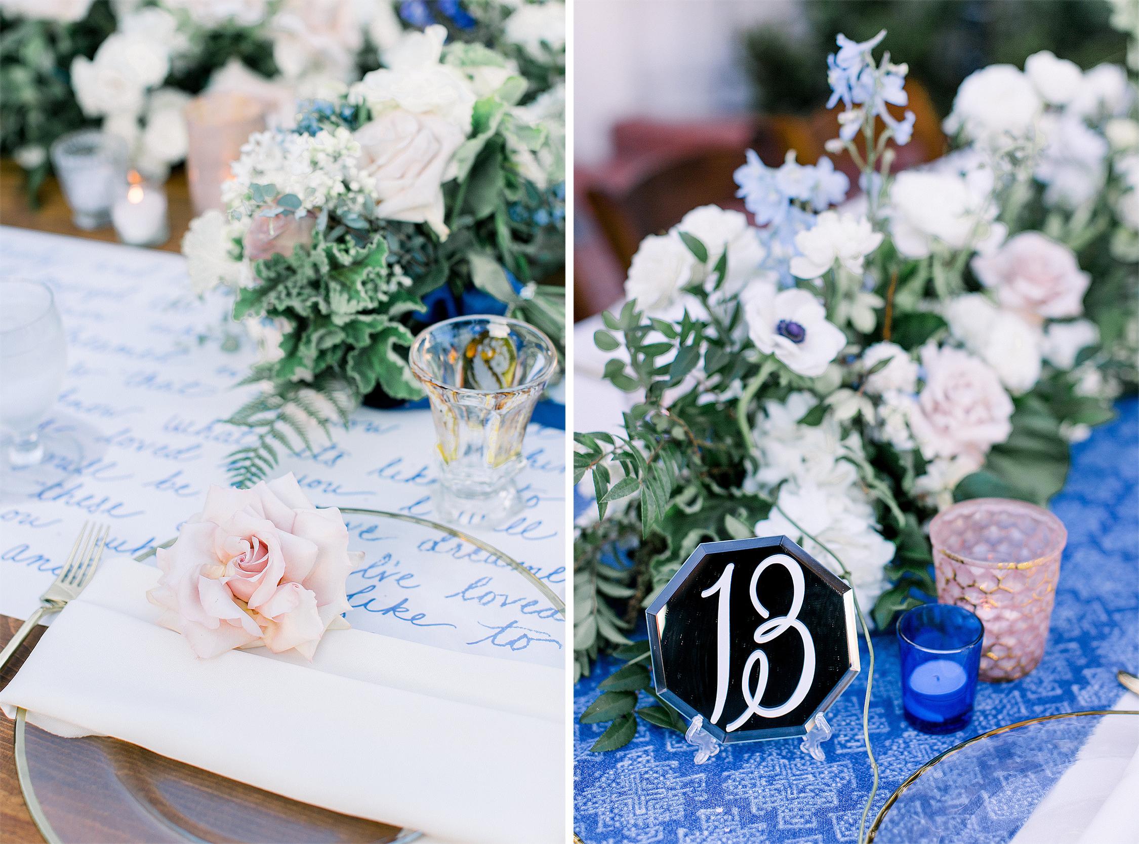 Royal Blue Tablescape