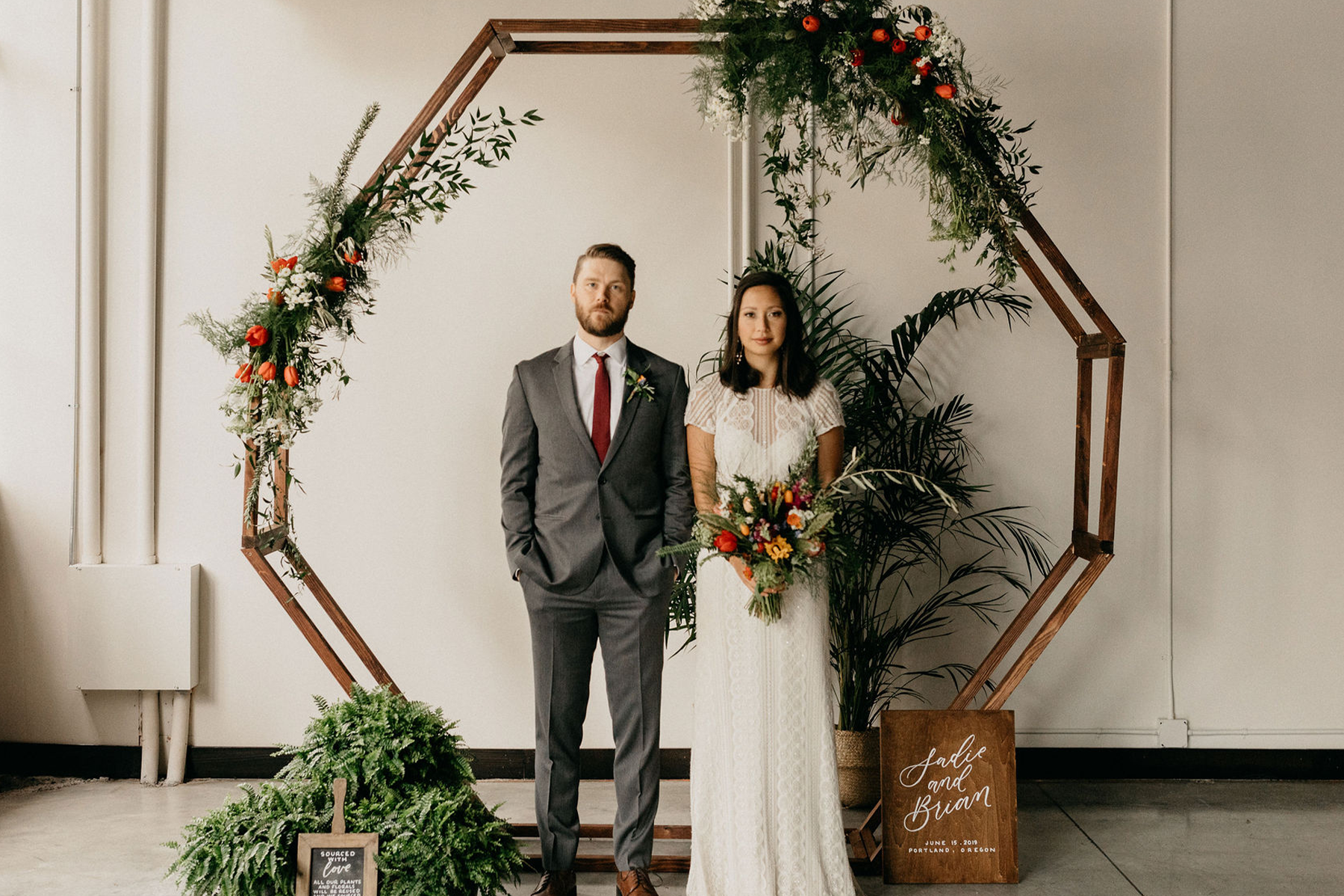 Eco-Friendly styled Shoot