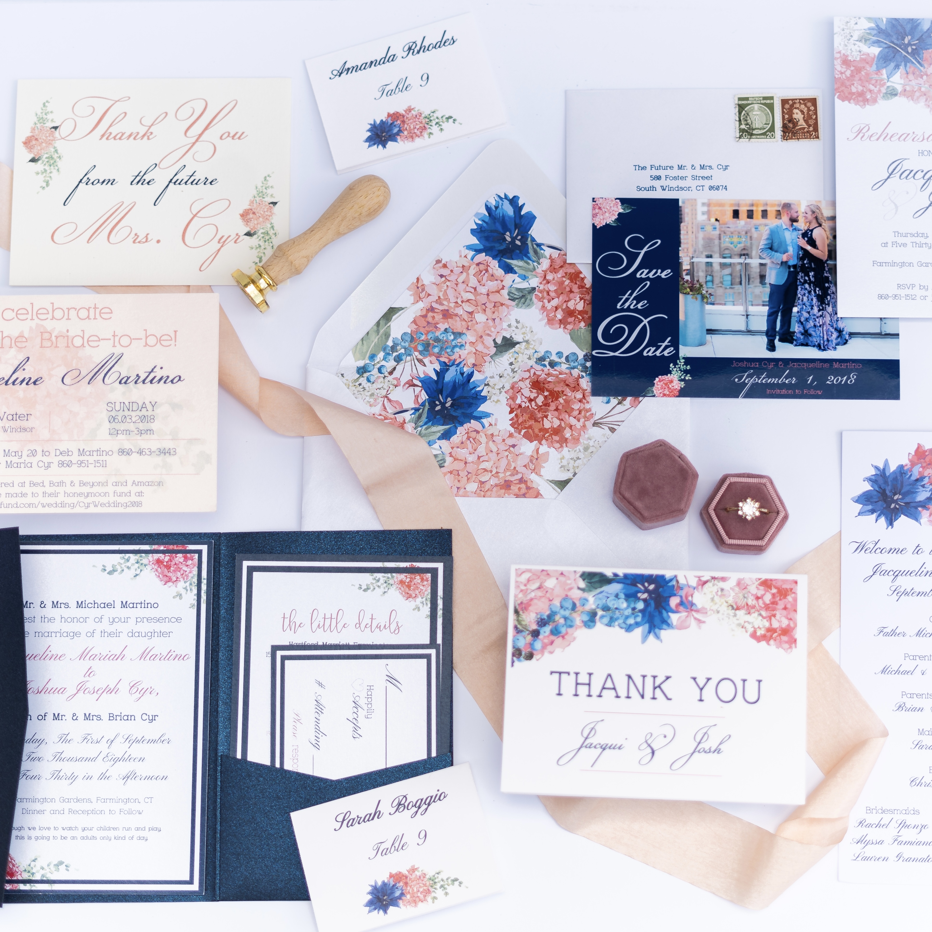 Colorful Stationery Suite