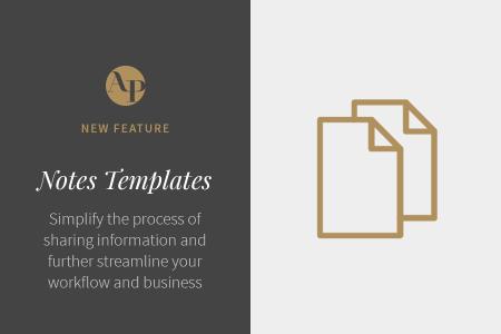 Introducing Notes Templates