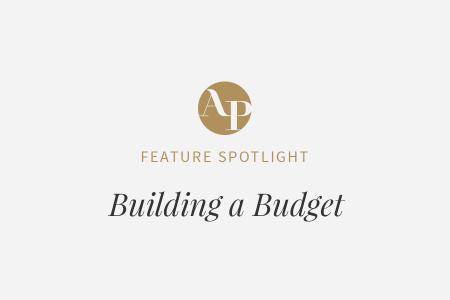 Building a Wedding Budget