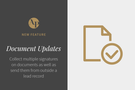 Introducing Multiple Document Signers