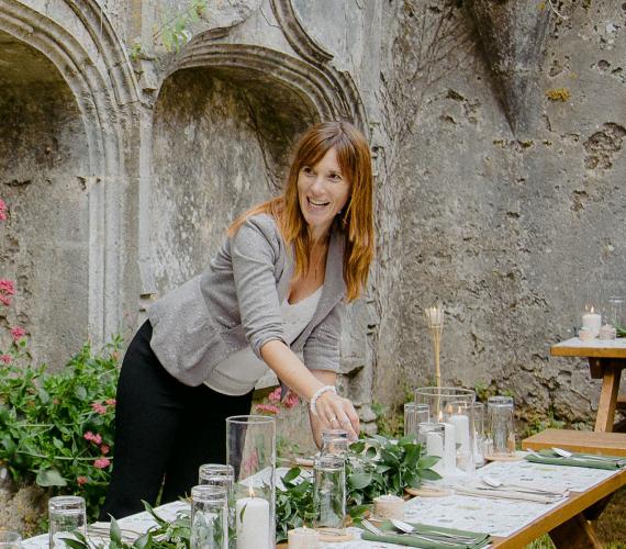 Michelle Johnstone Clark of Waterlily Weddings