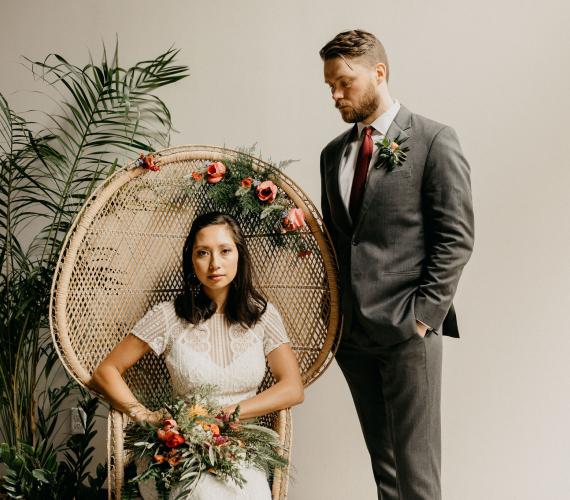 Eco-Friendly Wedding Shoot