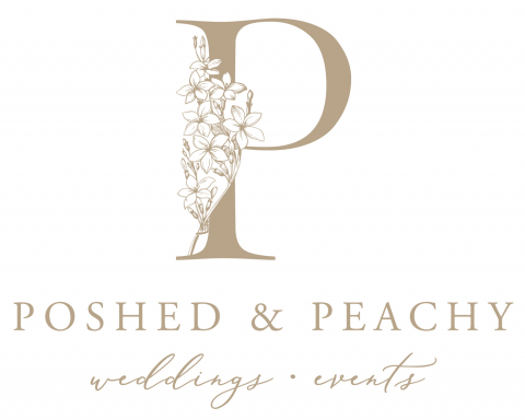 Poshed & Peachy Logo