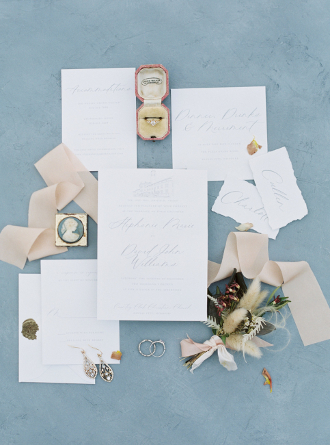 Wedding Stationery White
