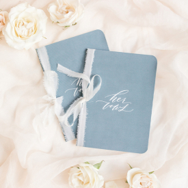 Wedding Vow Booklets