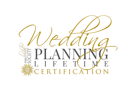 Wedding Planning Lifetime Certification Logo