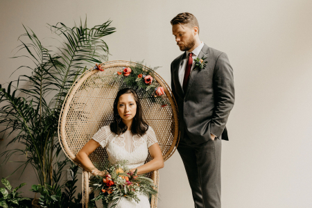 Eco-Friendly Wedding Shoot