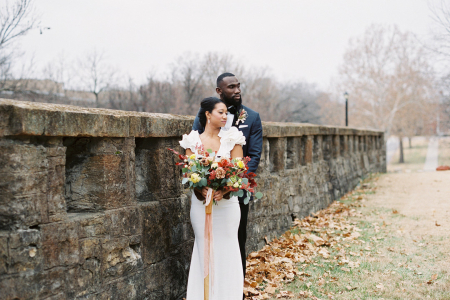 Fall Wedding at the Historic Fort Leavenworth