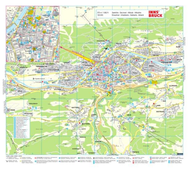 Innsbruck Hotel Route System Avenza Systems Inc Avenza Maps