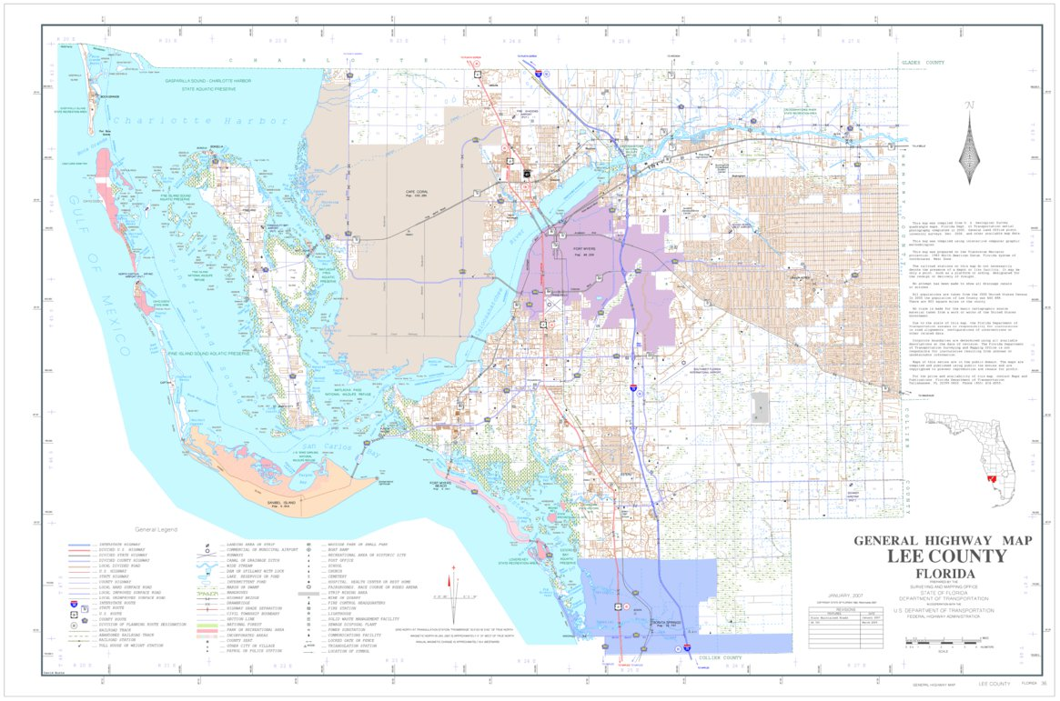 Map Of Lee County Florida.Lee Avenza Systems Inc Avenza Maps