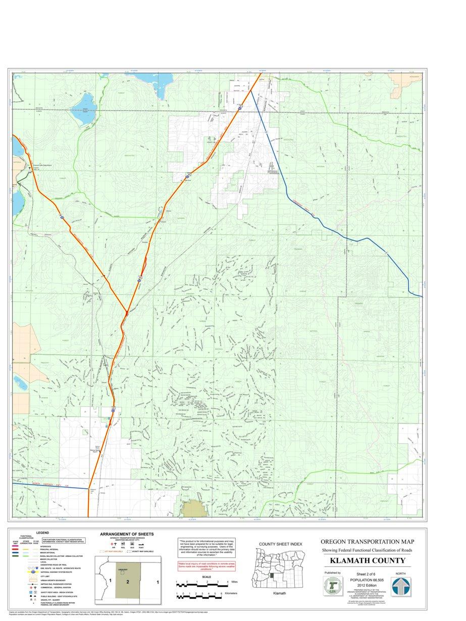 Klamath County Sheet 2 Avenza Systems Inc Avenza Maps