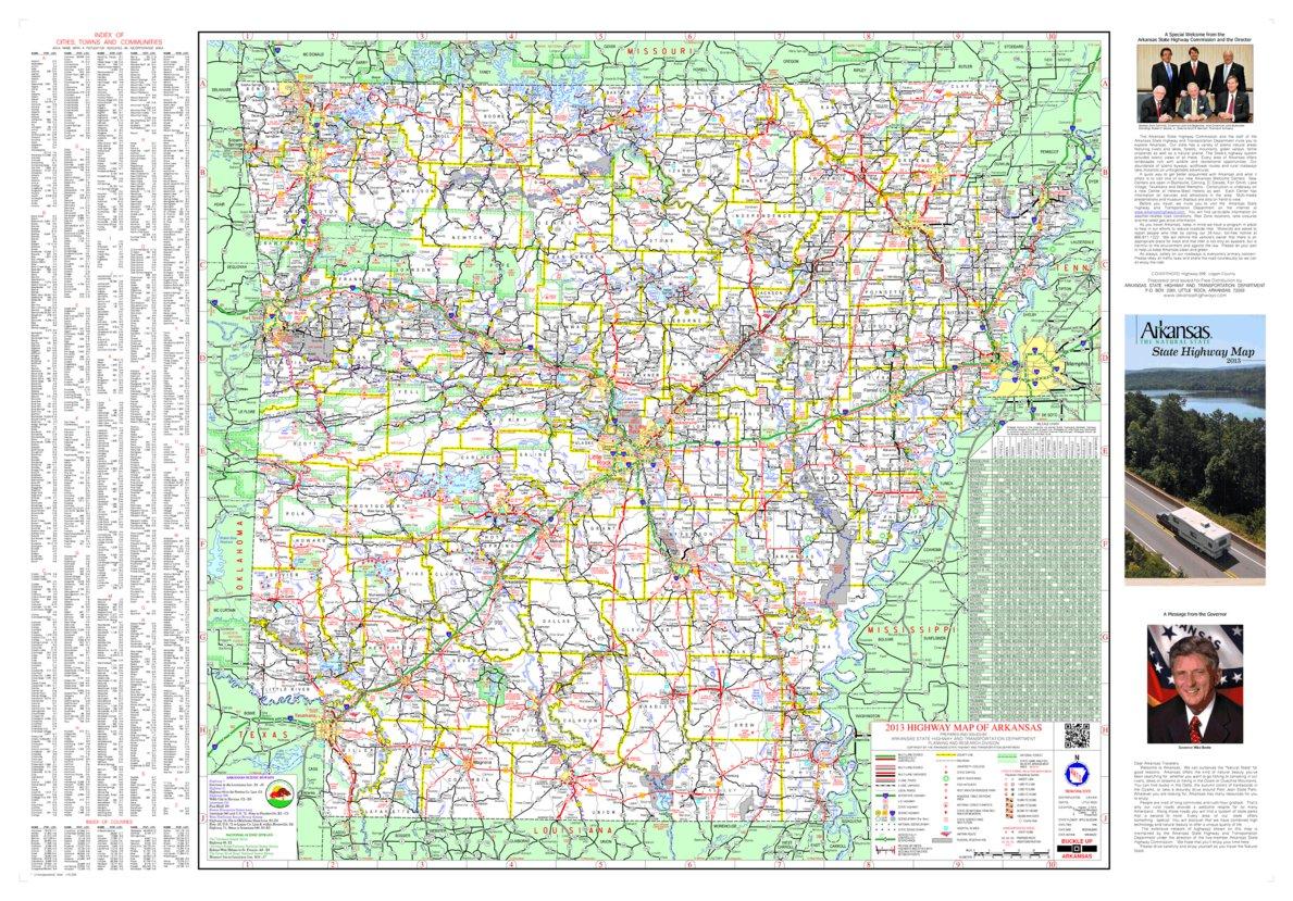 Arkansas Highways - Avenza Systems Inc. - Avenza Maps