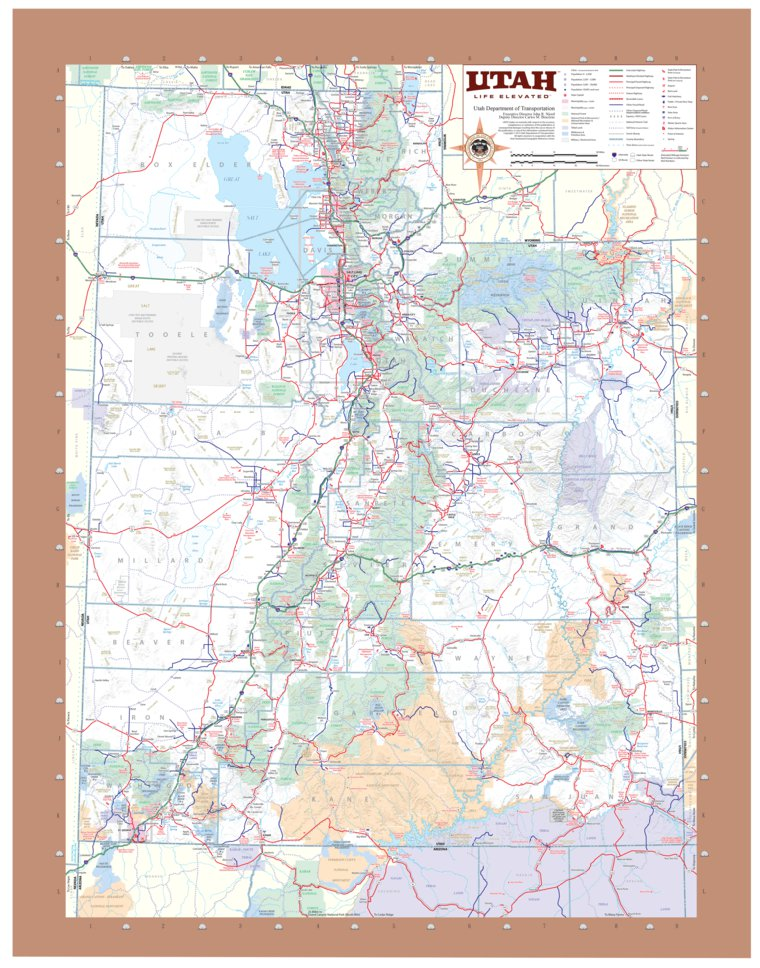 Utah Highways - Avenza Systems Inc. - Avenza Maps