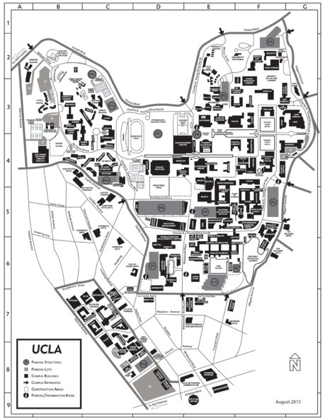 UCLA Campus Map (Grayscale) - Avenza Systems Inc. - Avenza Maps on