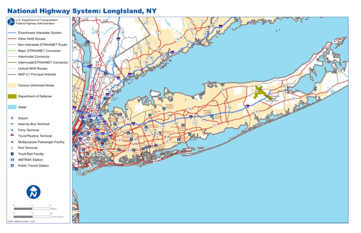 Map Of New York And Long Island.Highway Map Of Long Island New York Avenza Systems Inc Avenza