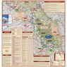 Trail Map for Bighorn Mountains - Wyoming