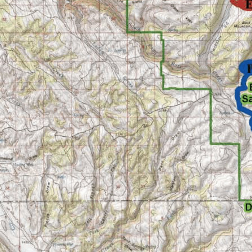 Trail Map for Bighorn Mountains - Wyoming - Avenza Systems Inc ...