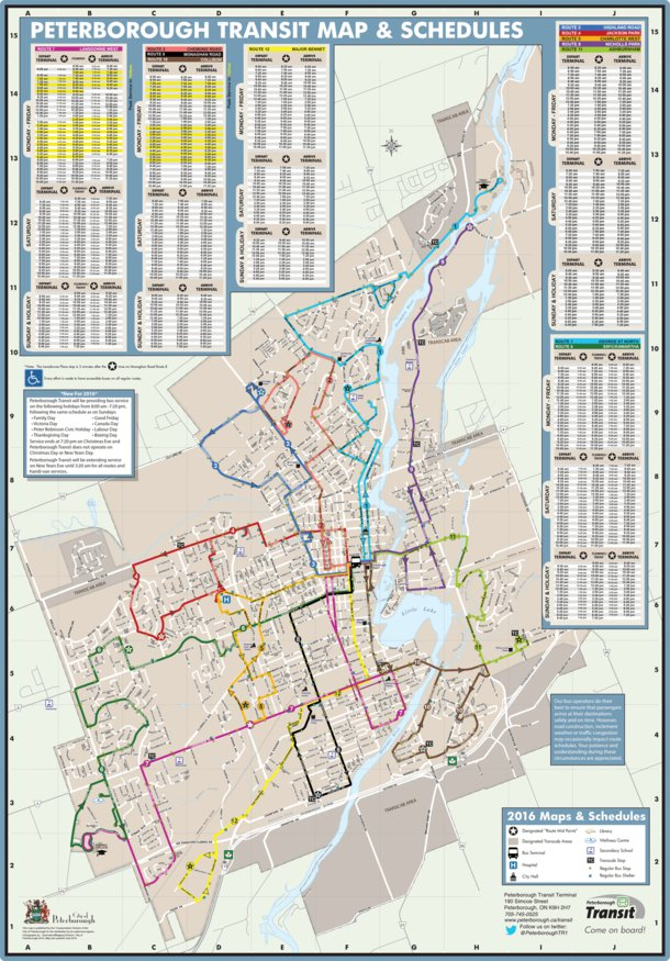 Peterborough Transit Avenza Systems Inc Avenza Maps
