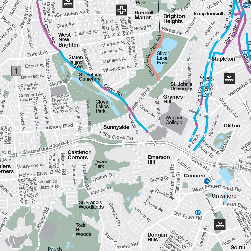 New York City Bike Map - Avenza Systems Inc. - Avenza Maps