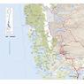 Carta Caminera de Magallanes y la Antártica Chilena (Norte)