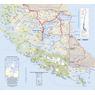 Carta Caminera de Magallanes y la Antártica Chilena (Sur)