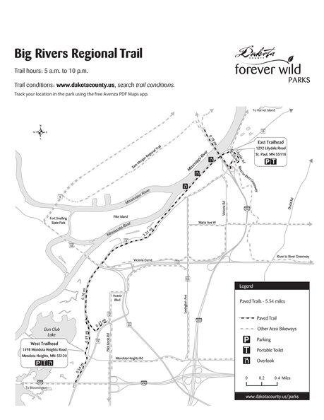 Big Rivers Regional Trail - All Season - Dakota County