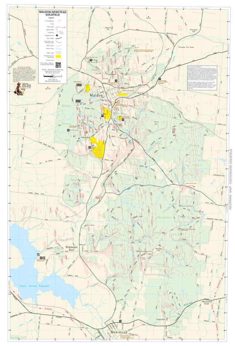 Maldon gold map doug stone gold maps avenza maps labels gumiabroncs Choice Image