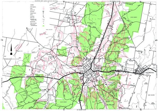 Maryborough Gold Map - Doug Stone GOLD MAPS - Avenza Maps