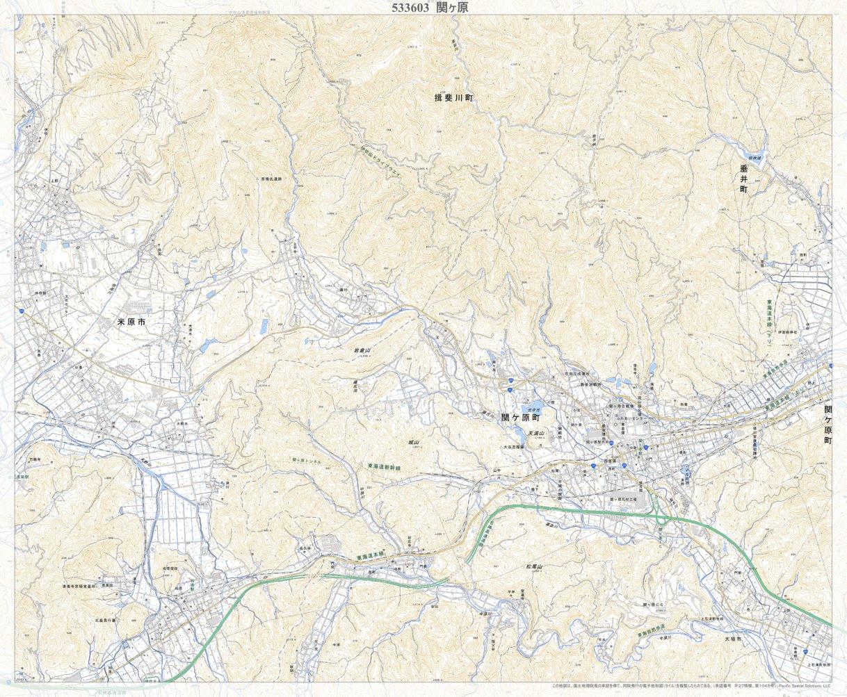 国土 地理 院 地形 図