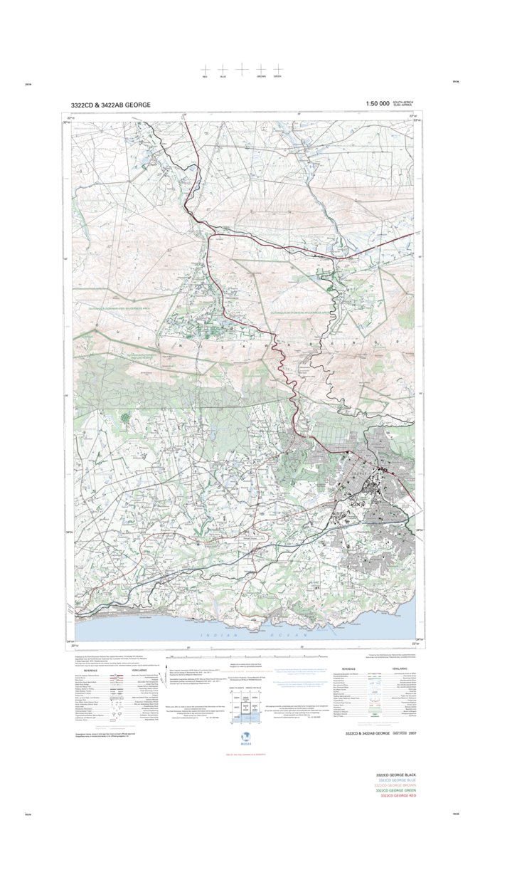 3322CD & 3422AB GEORGE - Chief Directorate: National Geo