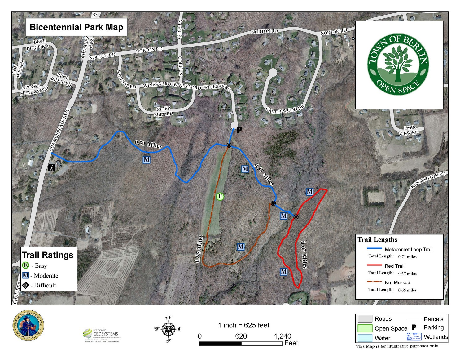 Preview And Extent Bicentennial Park Map