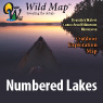 Wild Map™ Numbered Lakes (Terrain)